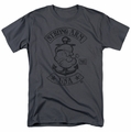 Popeye t-shirt Strong Arm Mc mens charcoal