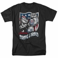 Popeye t-shirt Strong & Proud mens black