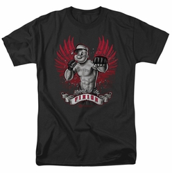 Popeye t-shirt Undefeated mens black