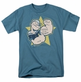Popeye t-shirt Welcome To The Gun Show mens slate