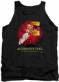 Popeye tank top Alternative Fuel mens black