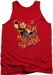 Popeye tank top Get Air mens red