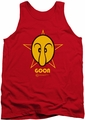 Popeye tank top Goon mens red