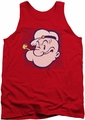 Popeye tank top Head mens red