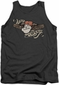 Popeye tank top I Am mens charcoal
