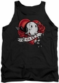 Popeye tank top Olive Tattoo mens black