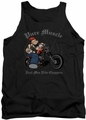Popeye tank top Pure Muscle mens black