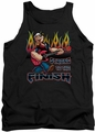 Popeye tank top Rocks mens black