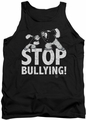 Popeye tank top Stop Bullying mens black