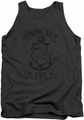 Popeye tank top Strong Arm Mc mens charcoal