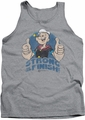 Popeye tank top To The Finish mens athletic heather