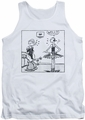 Popeye tank top Well mens white