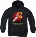 Popeye youth teen hoodie Alternative Fuel black