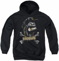 Popeye youth teen hoodie Brutus black