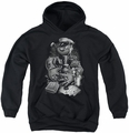 Popeye youth teen hoodie Mine All Mine black