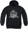 Popeye youth teen hoodie Somes Of This black