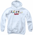 Popeye youth teen hoodie The Usual Suspects white