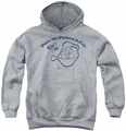 Popeye youth teen hoodie Toot! Toot! athletic heather