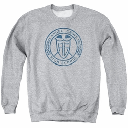 Power Rangers adult crewneck sweatshirt Angel Grove Hs athletic heather