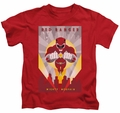 Power Rangers kids t-shirt Red Deco red