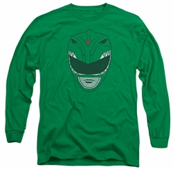 Power Rangers long-sleeved shirt Green Ranger kelly green