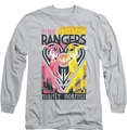 Power Rangers long-sleeved shirt Pink & Yellow Deco silver