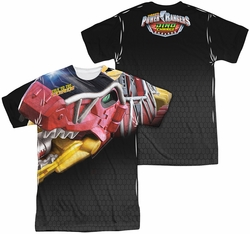 Power Rangers mens full sublimation t-shirt Big Zord