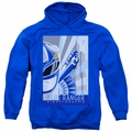 Power Rangers pull-over hoodie Blue Ranger Deco adult royal blue