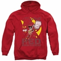 Power Rangers pull-over hoodie Go Red adult red