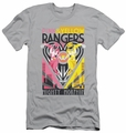Power Rangers slim-fit t-shirt Pink & Yellow Deco mens silver