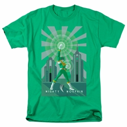 Power Rangers t-shirt Green Ranger Deco mens kelly green