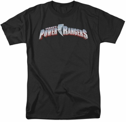 Power Rangers t-shirt New Logo mens black