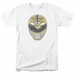Power Rangers t-shirt White Ranger Mask mens white