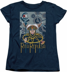 Power Rangers womens t-shirt Rita Deco navy