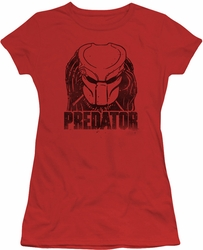 Predator juniors t-shirt Logo red