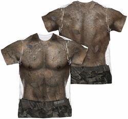 Predator mens full sublimation t-shirt Mud Camo