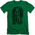 Predator slim-fit t-shirt What Are You mens kelly green