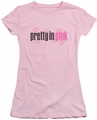 Pretty In Pink juniors t-shirt Logo pink