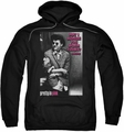 Pretty In Pink pull-over hoodie Admire adult black