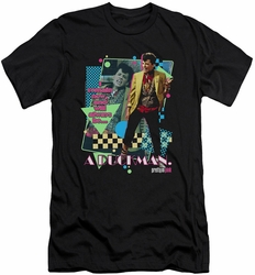 Pretty In Pink slim-fit t-shirt A Duckman mens black