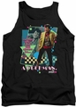Pretty In Pink tank top A Duckman mens black
