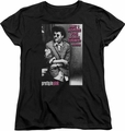 Pretty In Pink womens t-shirt Admire black