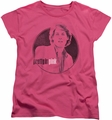 Pretty In Pink womens t-shirt Steff hot pink