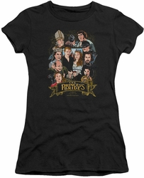 Princess Bride juniors t-shirt Timeless black