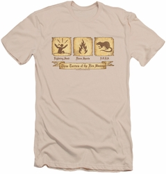 Princess Bride slim-fit t-shirt Three Terrors mens cream