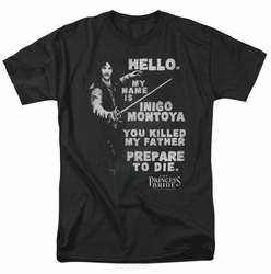 Princess Bride t-shirt Hello Again mens black