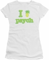 Psych juniors t-shirt I Like Psych white