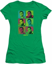 Psych juniors t-shirt Squared kelly green