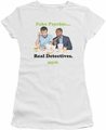 Psych juniors t-shirt Take Out white
