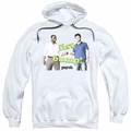 Psych pull-over hoodie Bump It adult white